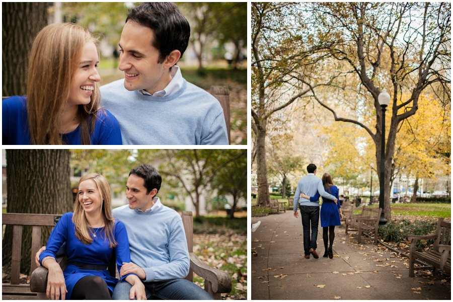 Rittenhouse Square, engagement photos