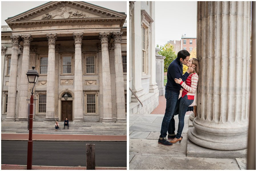 Old City, engagement photos