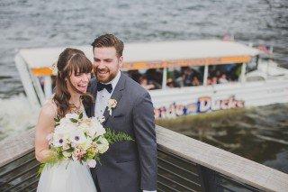 Race Street Pier, wedding