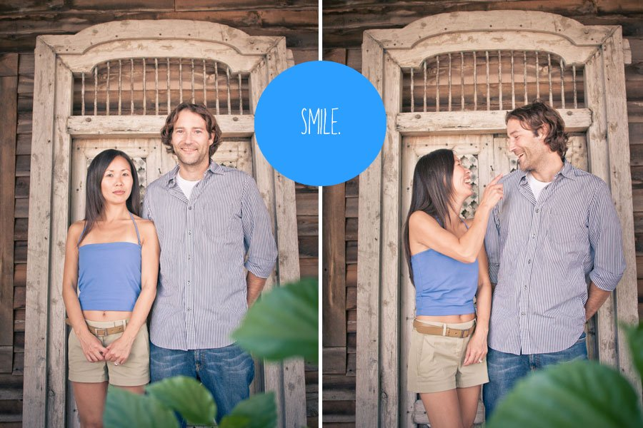 how to pose, engagement photos