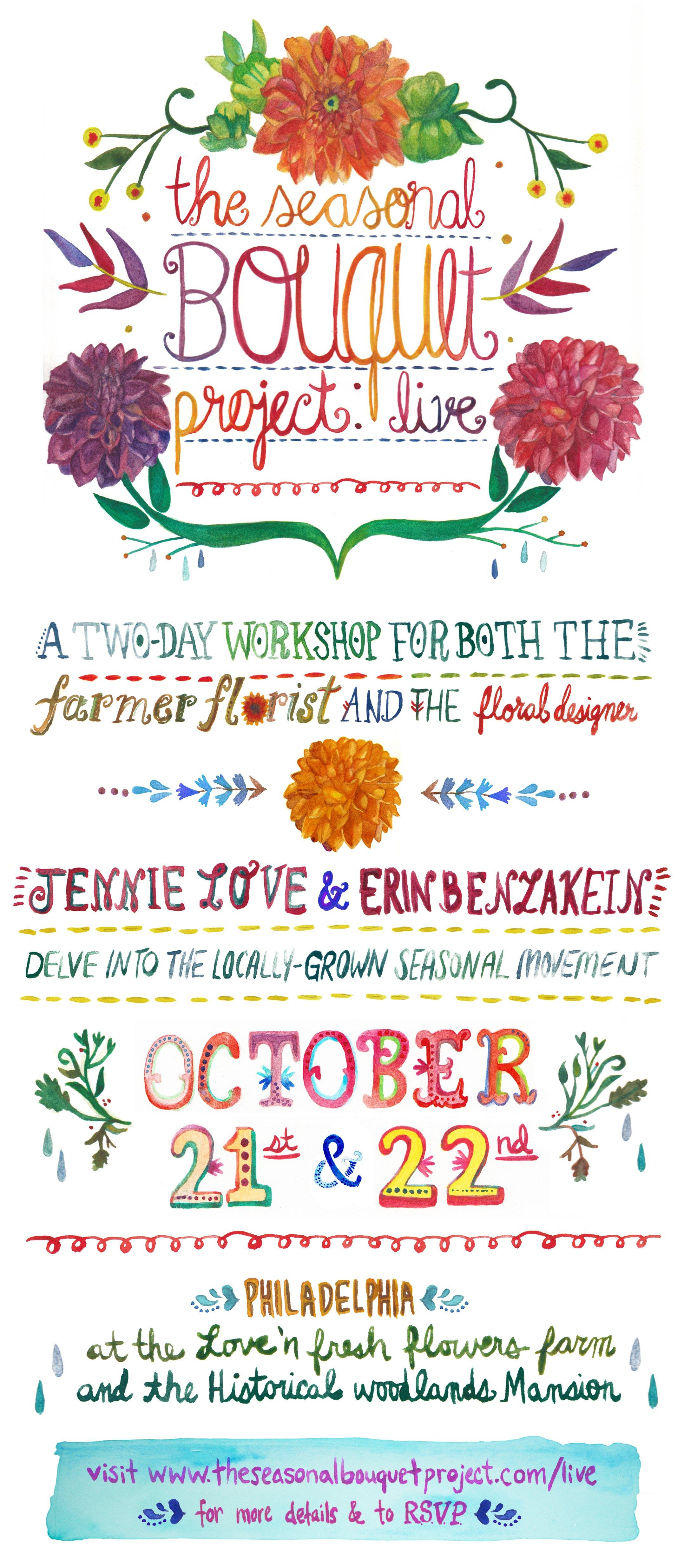 Seasonal Bouquet Project