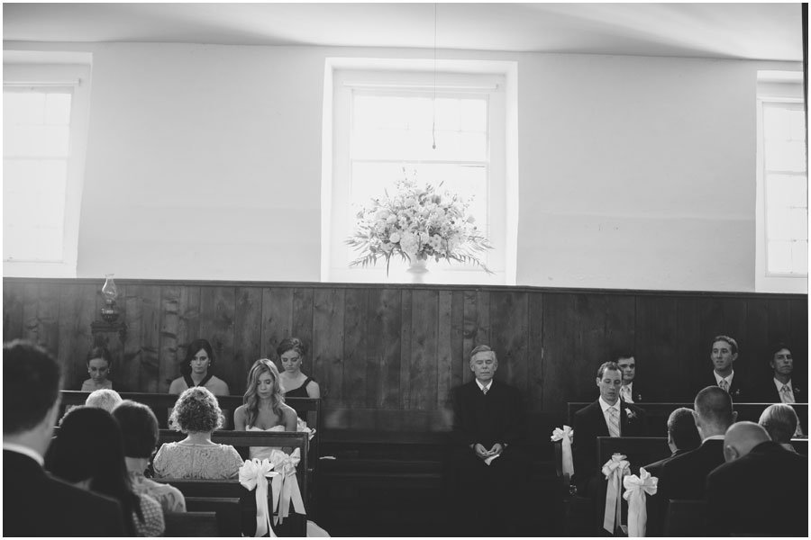 Radnor Friends Meeting House, wedding