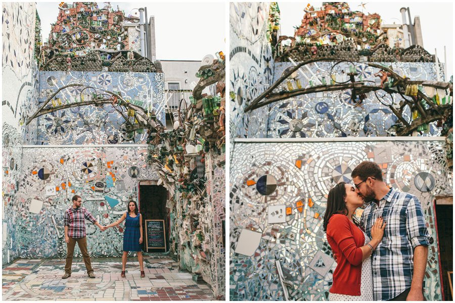 Philadelphia Magic Gardens, engagement