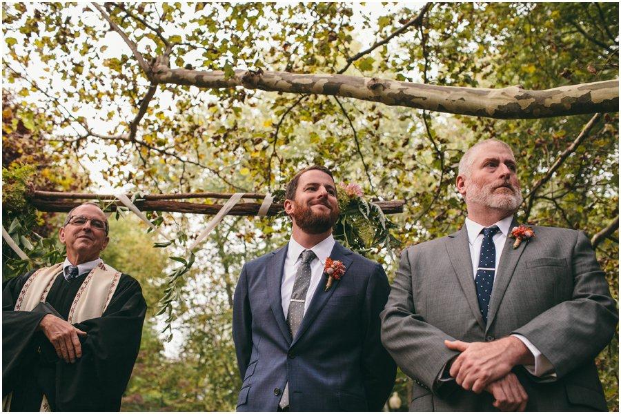 wedding, groom's reaction