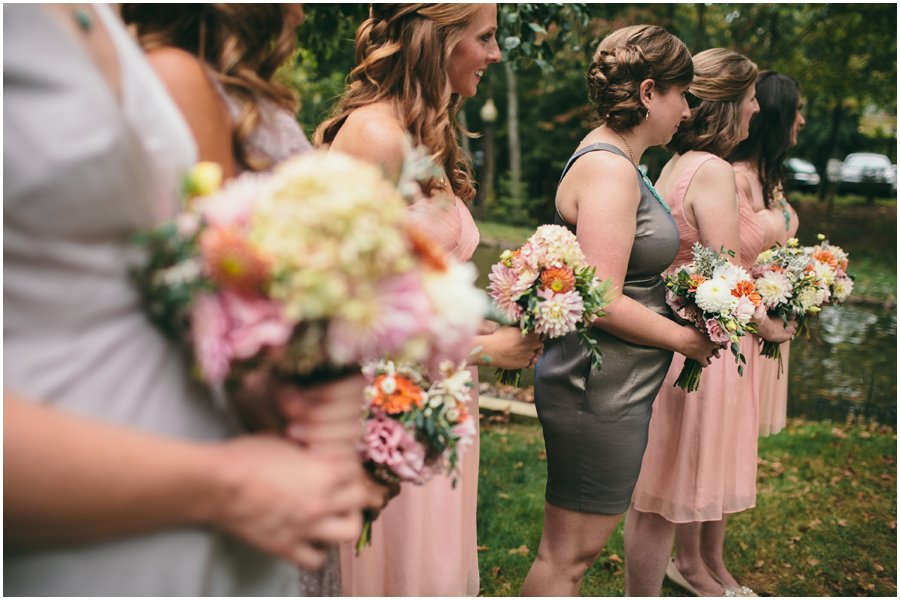 bridesmaid, mismatched
