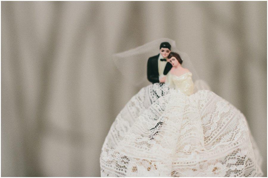 cake topper, wedding, vintage