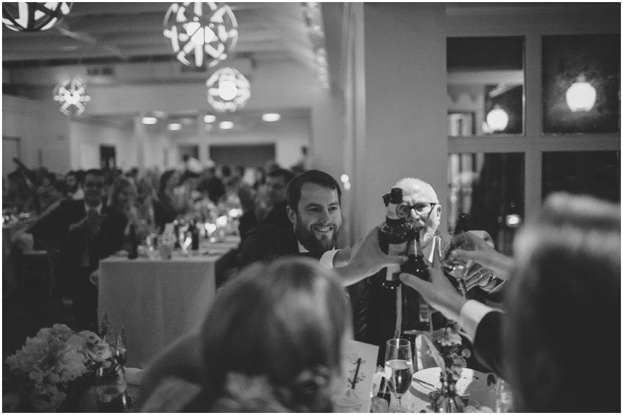 wedding, toast, reception