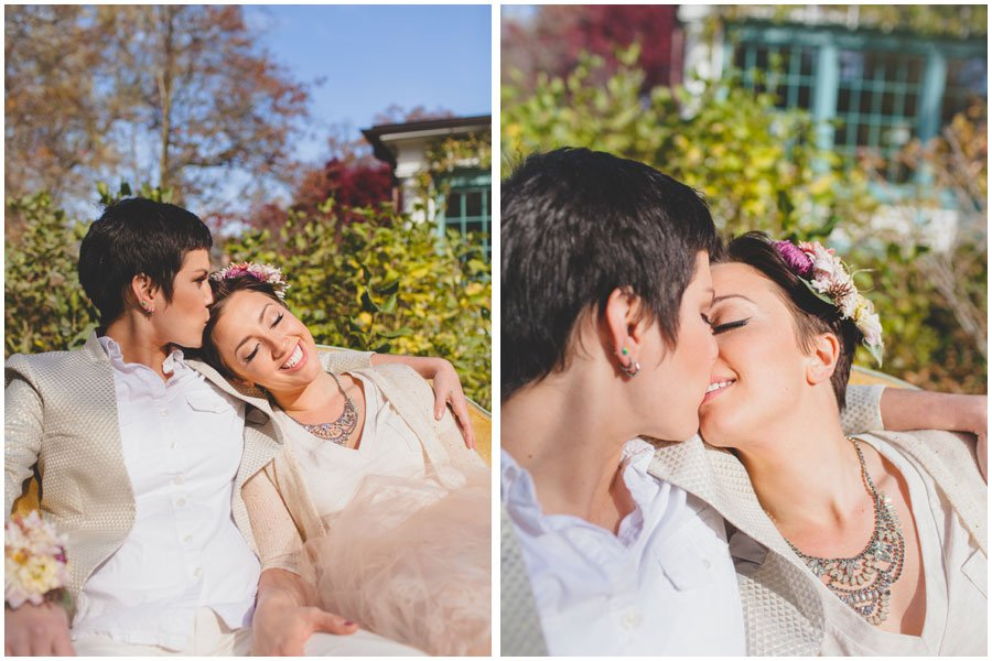 same sex, styled shoot, wedding