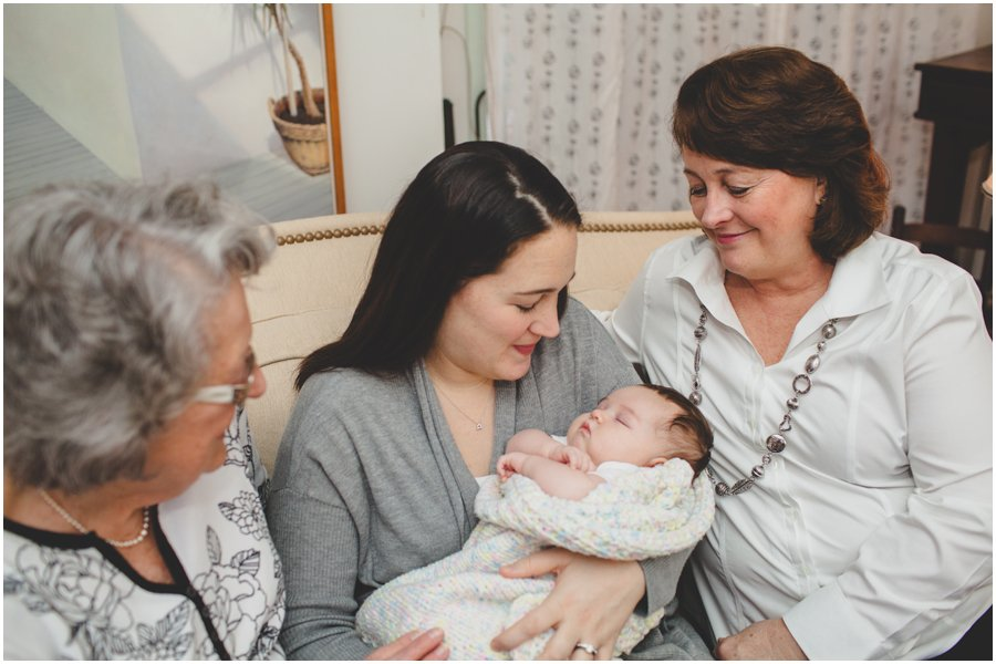 four generations, women