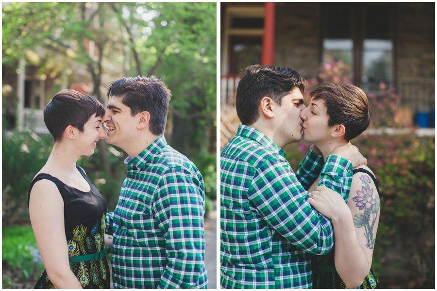 Clark Park, Philadelphia, engagement