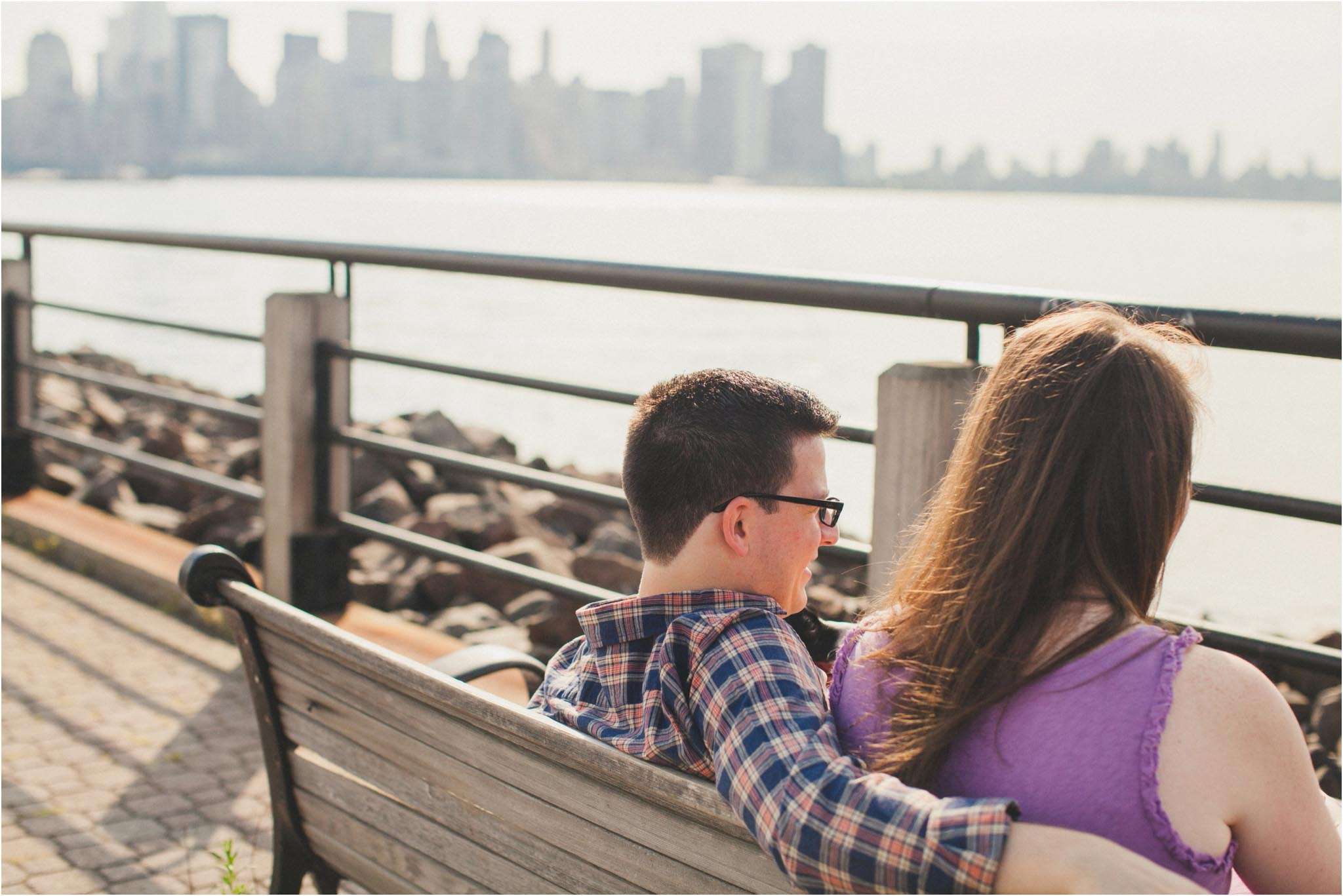 Liberty State Park, engagement