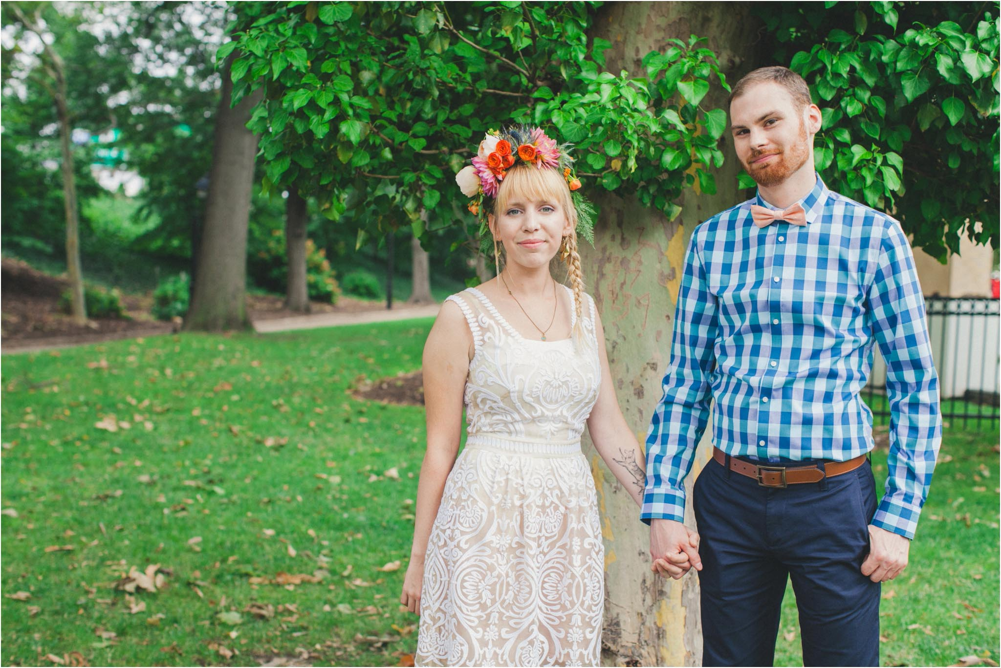 BHLDN dress, wedding