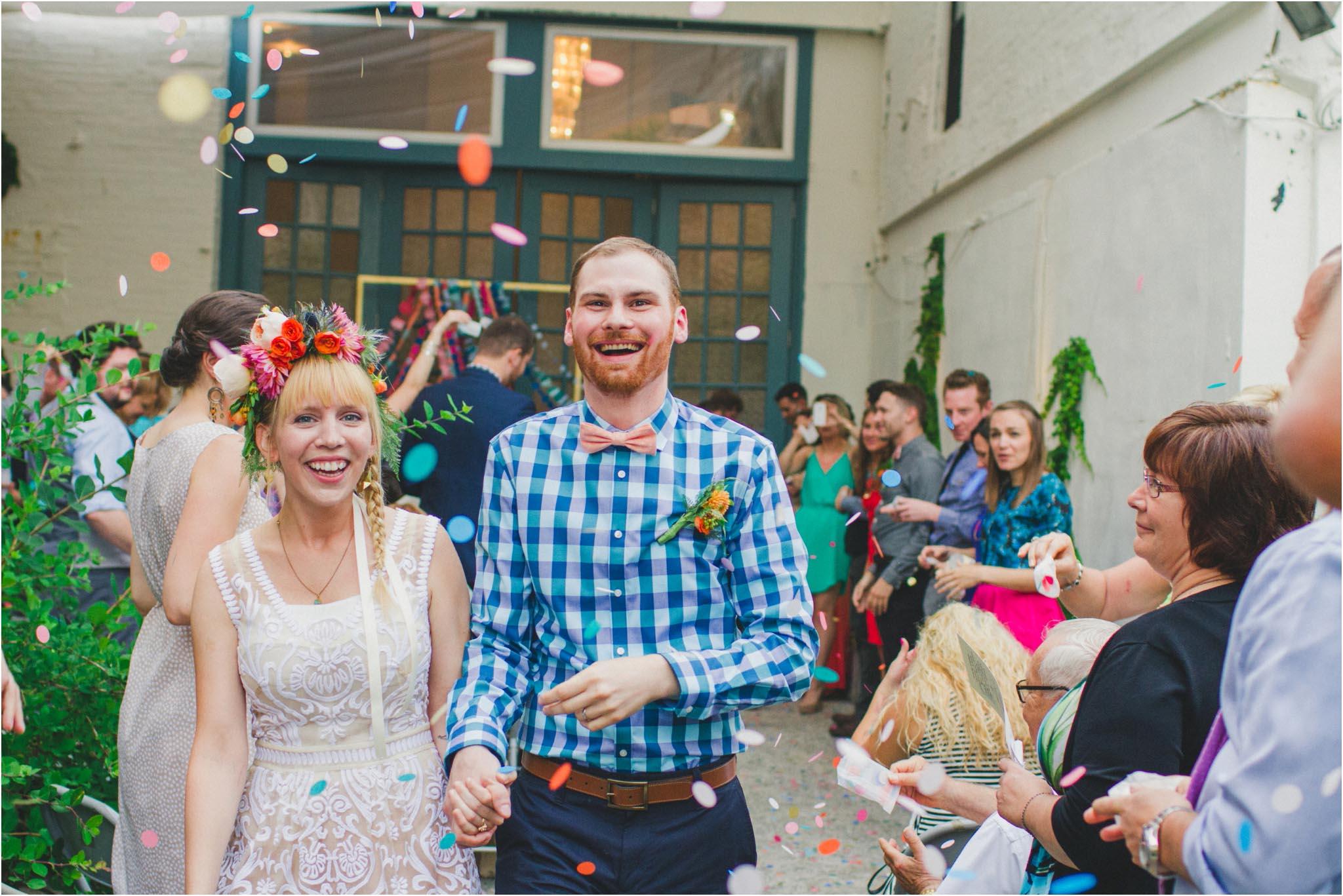 Maas Building, wedding