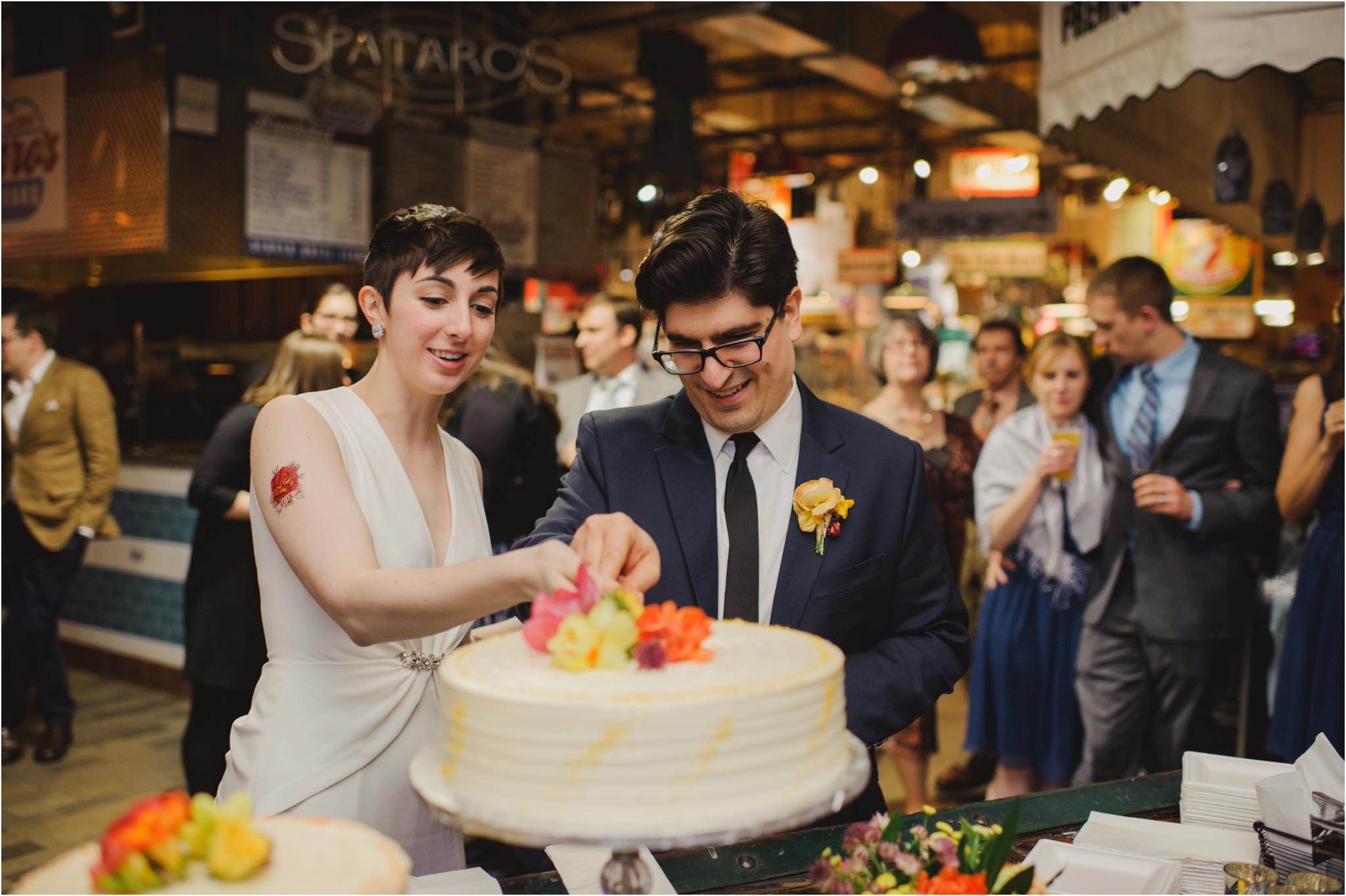 Reading Terminal Market, wedding