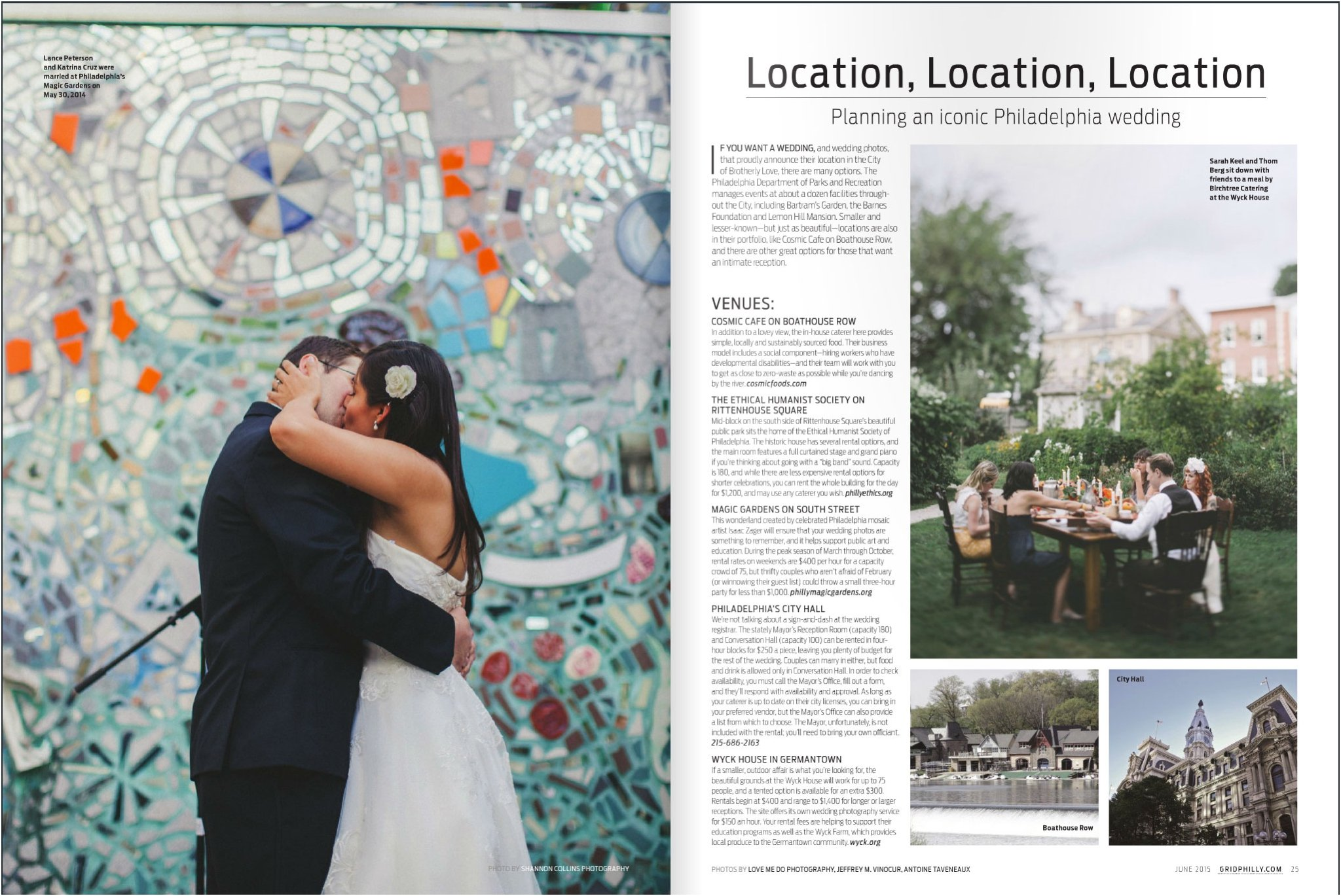 Grid Magazine, wedding issue