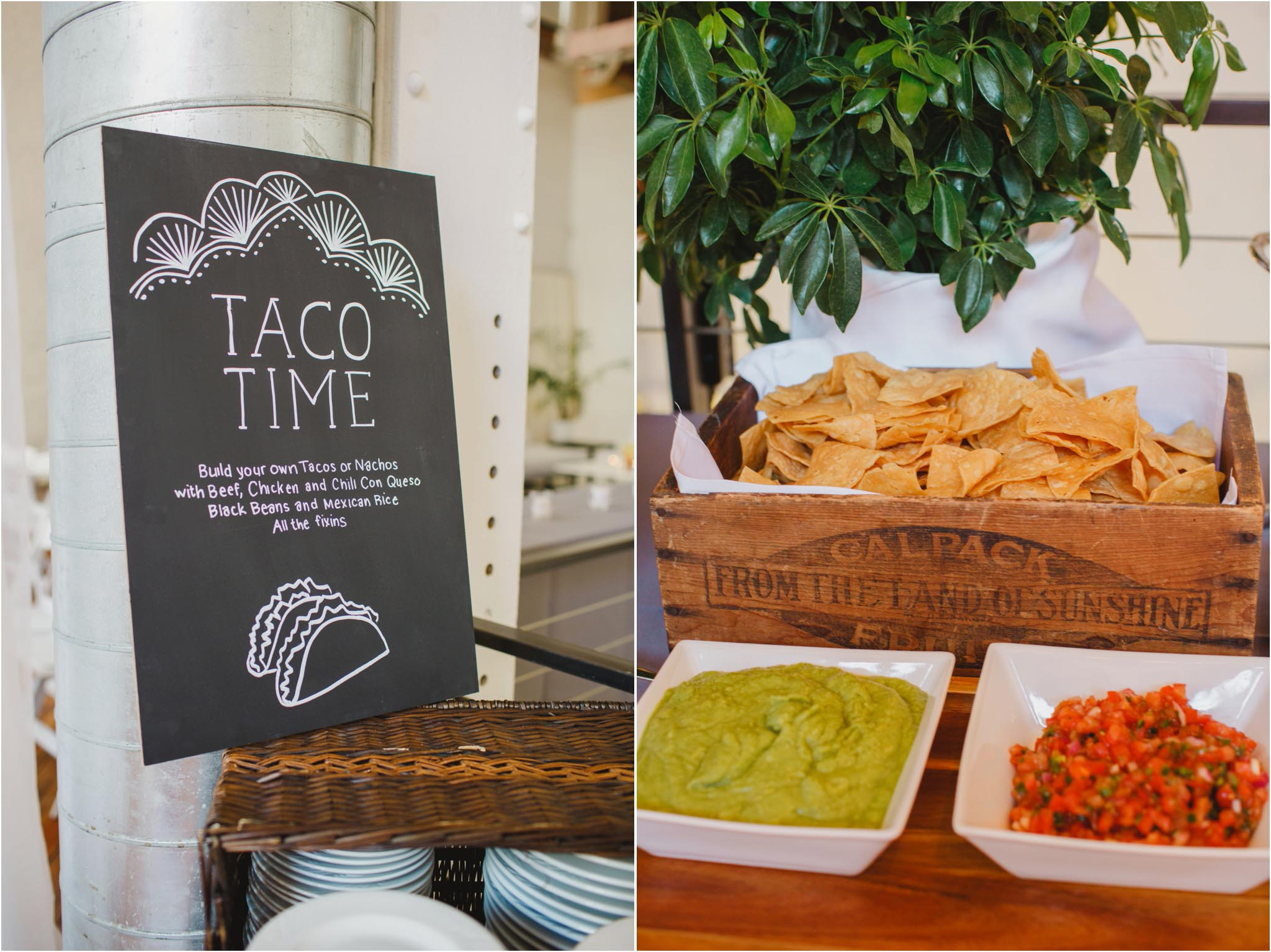 taco bar, Philadelphia, wedding