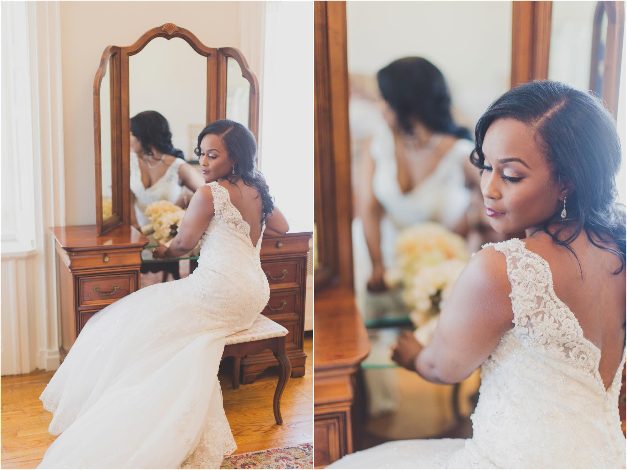 bridal portraits, Bucks County