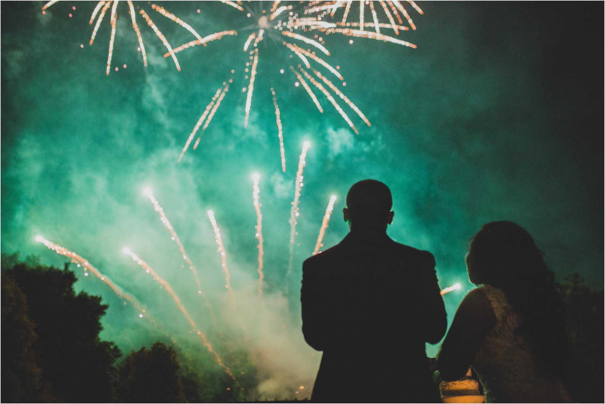 Philadelphia, fireworks, wedding