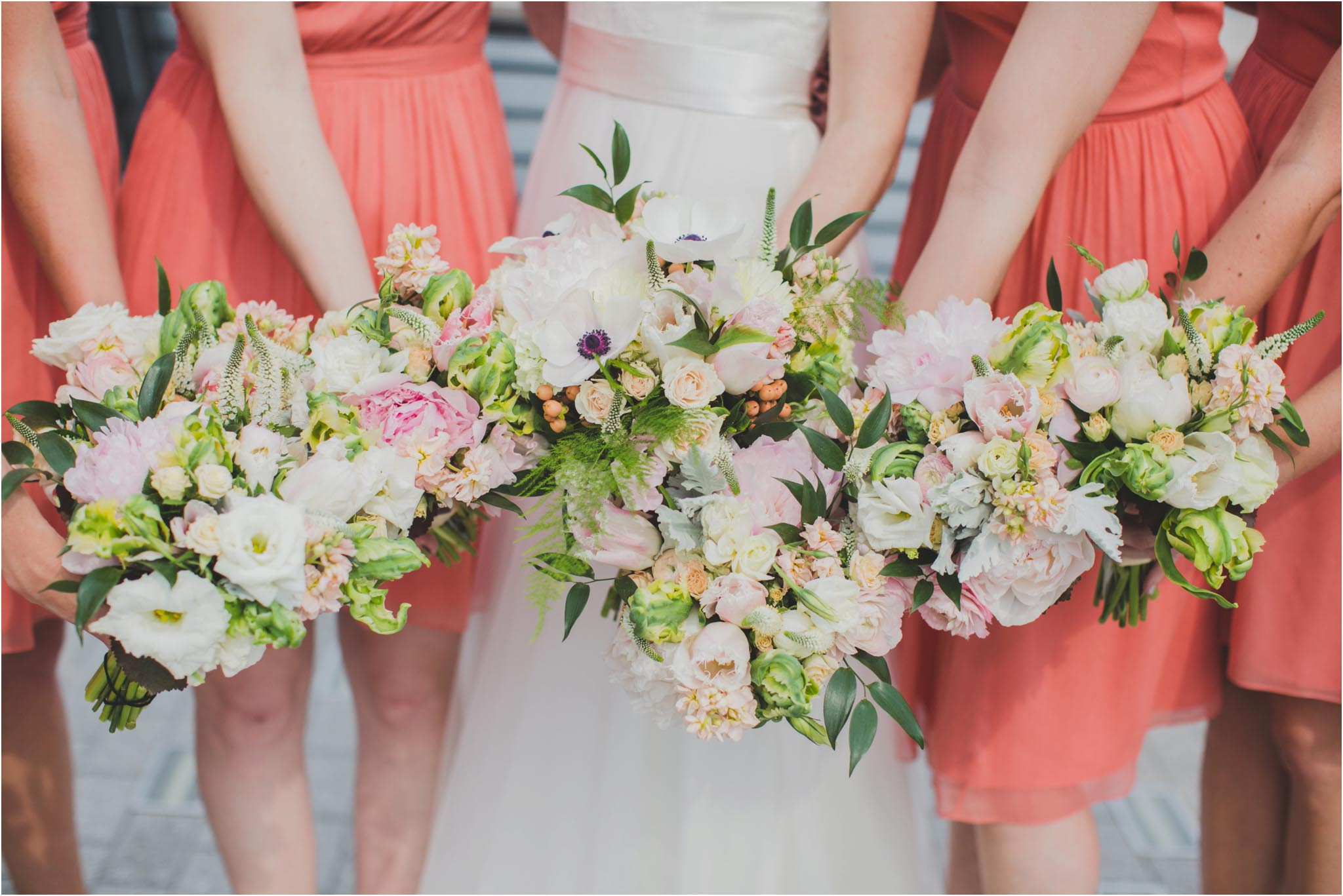 Falls Flowers, bridal party
