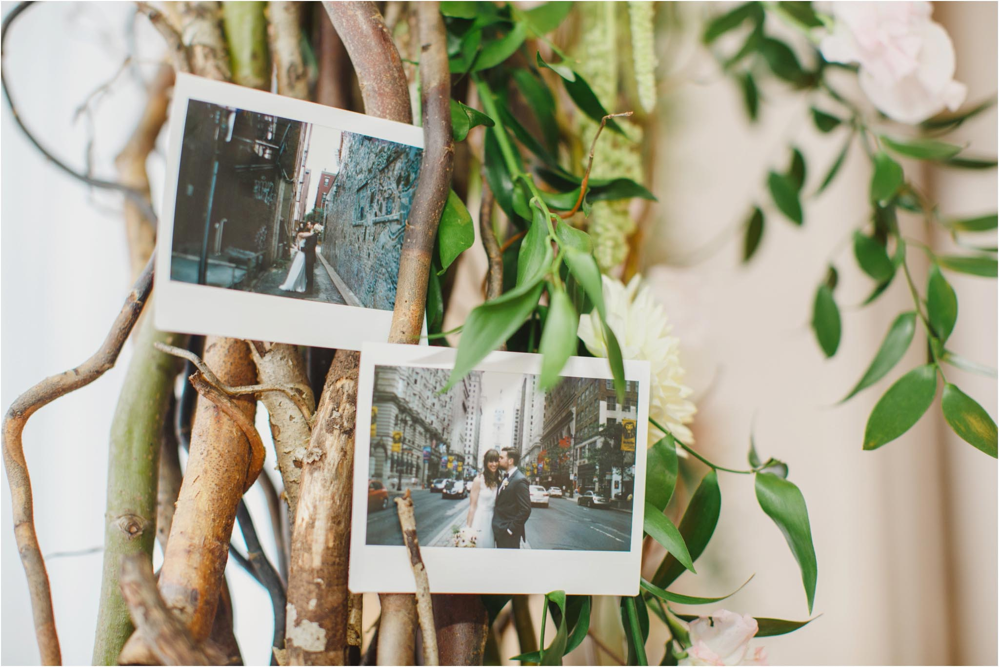 instant film, wedding, Philadelphia