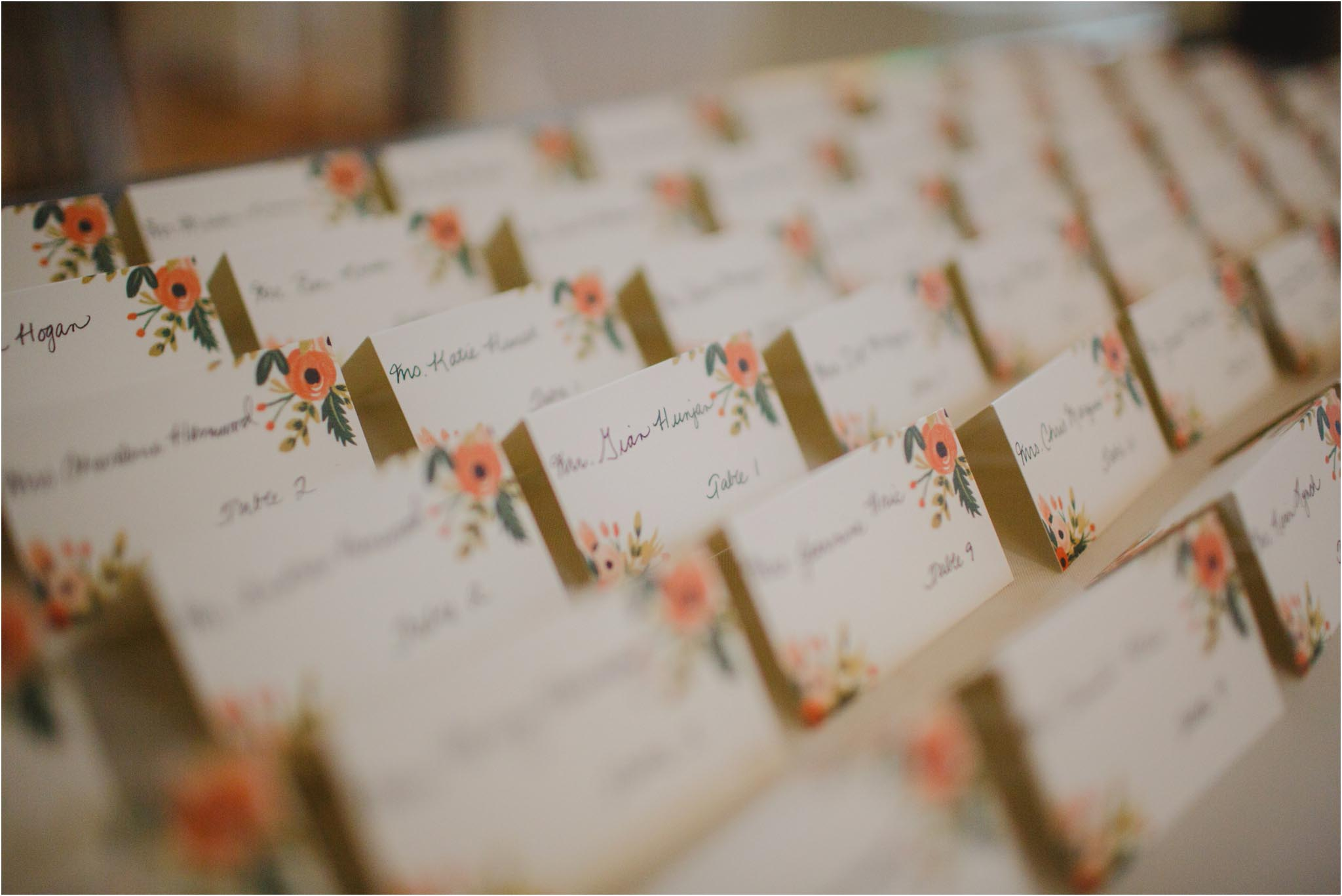 Rifle Paper Co, placecards