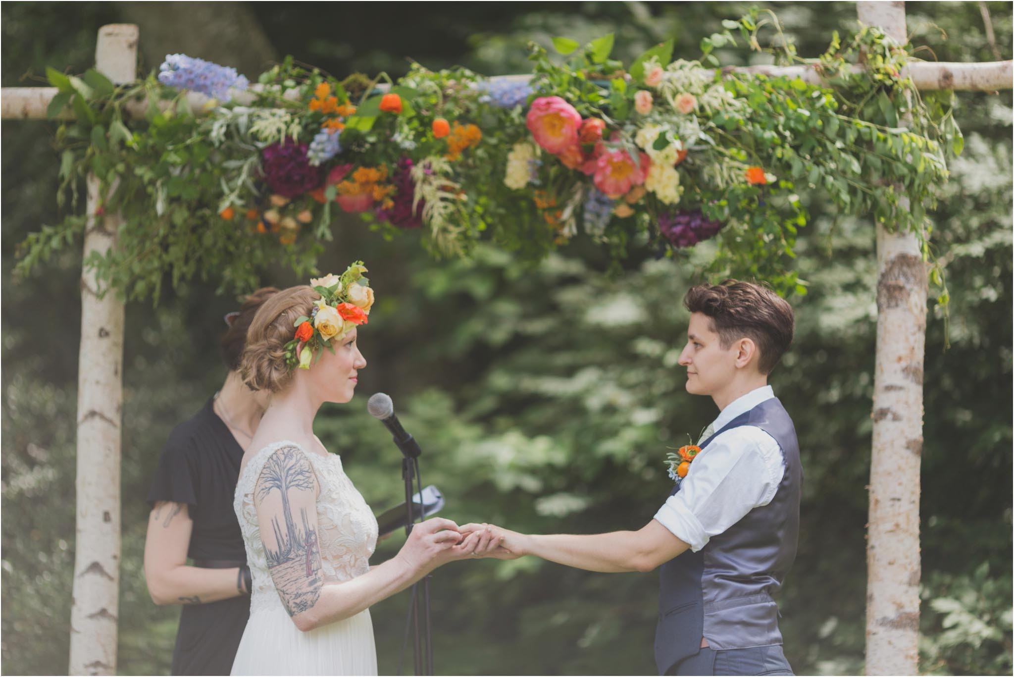 queer wedding, ceremony, Philadelphia