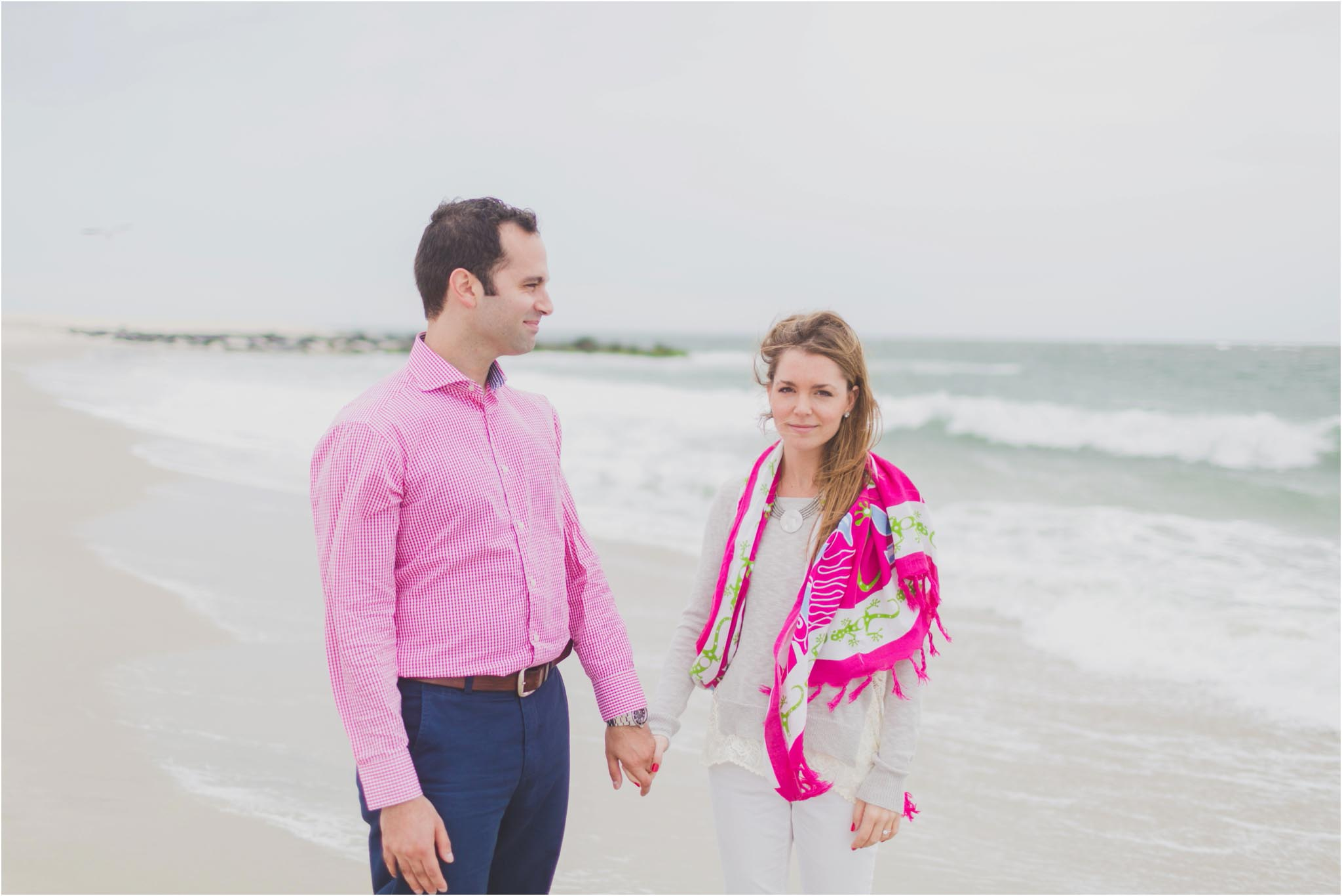 Cape May, engagement, beach