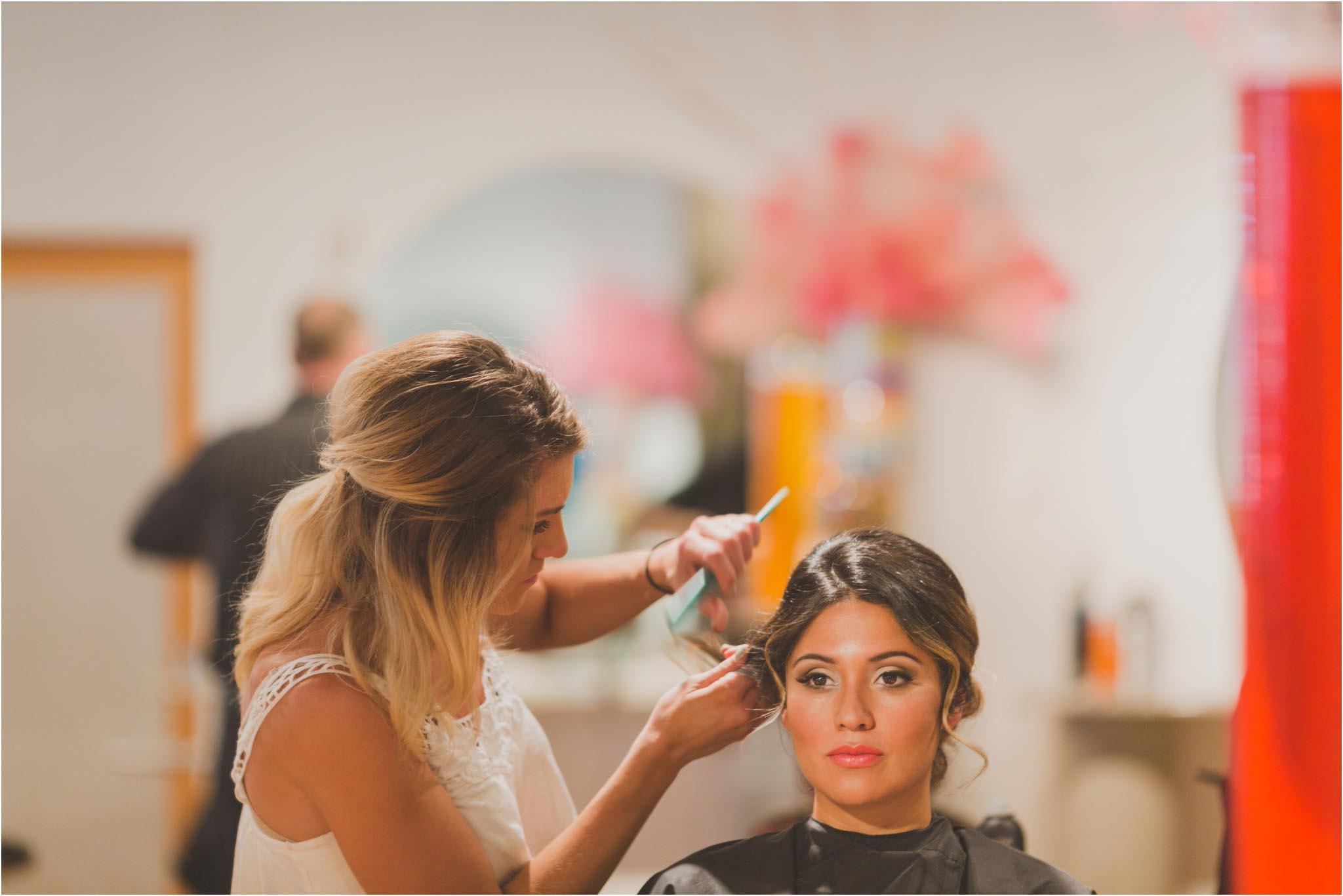 American Hairlines, Bethlehem, wedding
