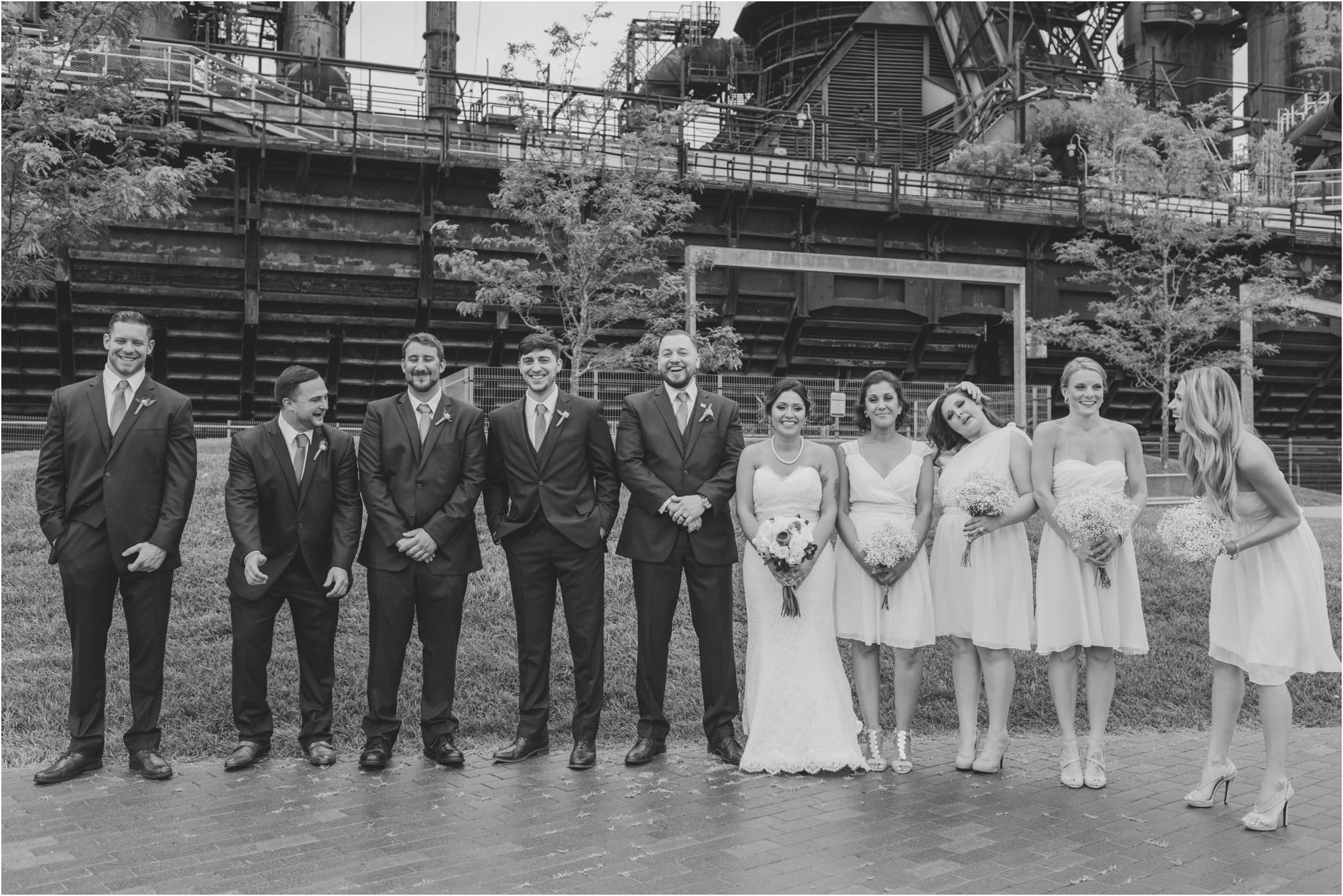 Bethlehem, Steelstacks, wedding