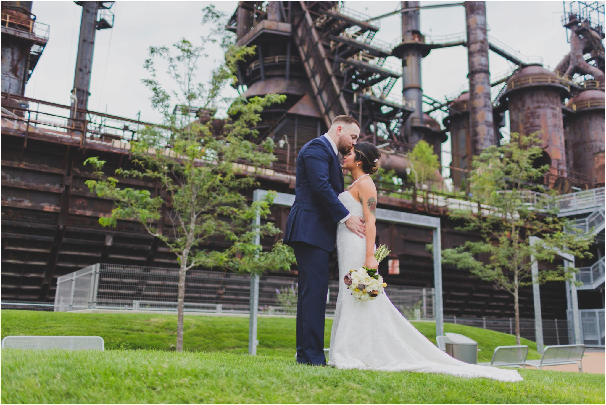 Bethlehem, Steelstacks, wedding
