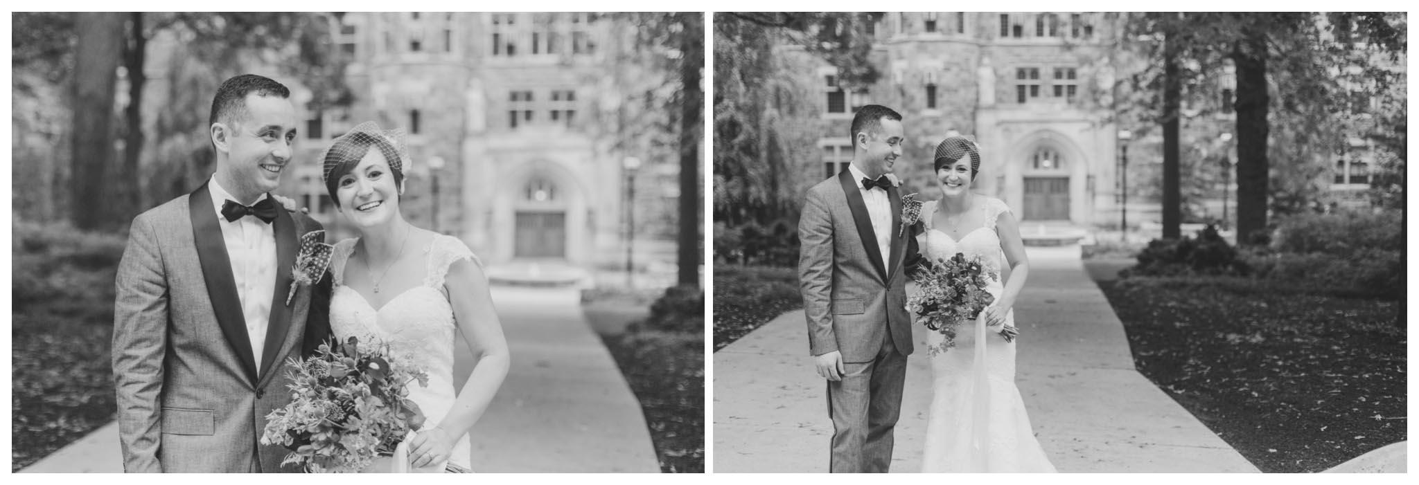 Lehigh University, wedding