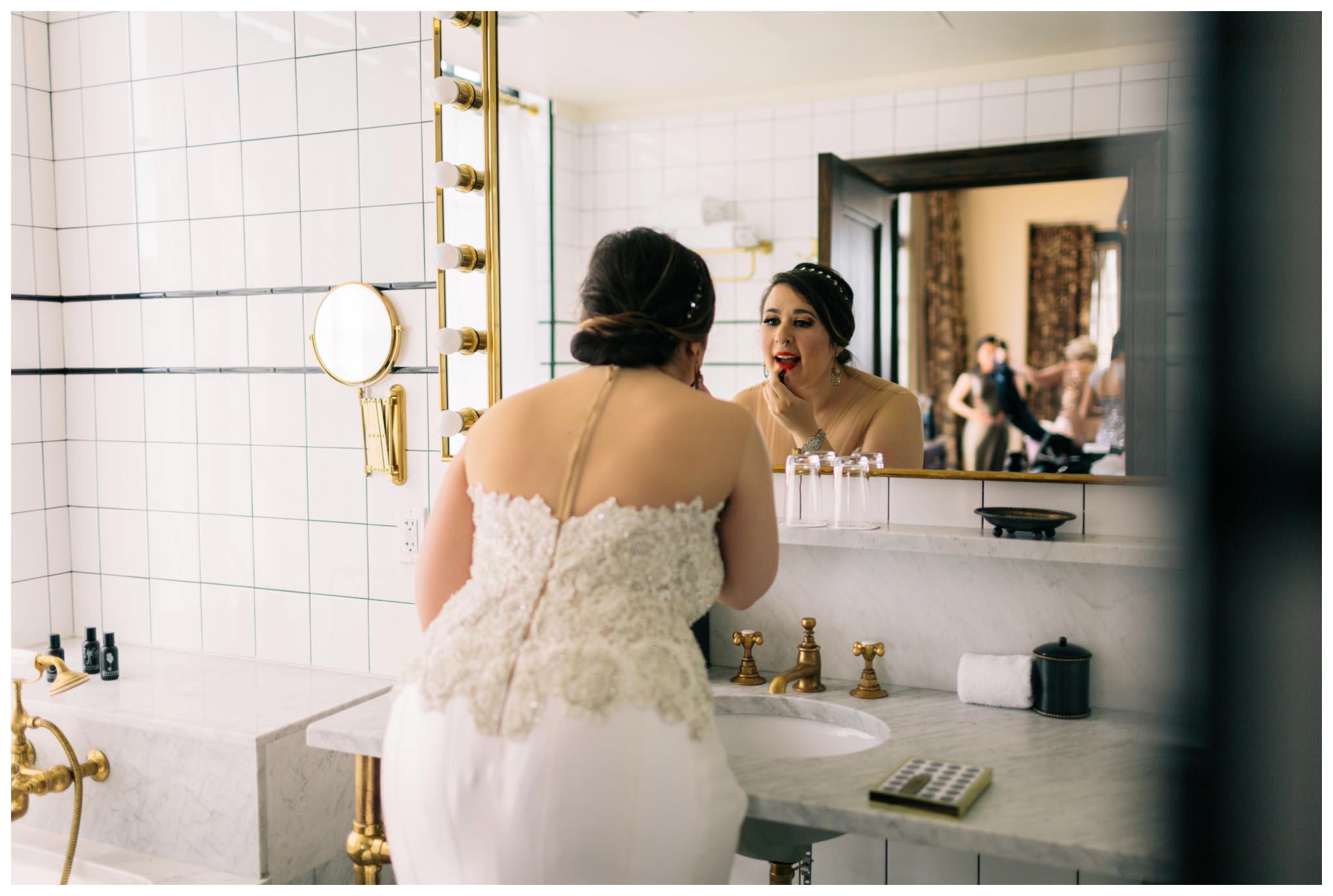 Ludlow Hotel, wedding