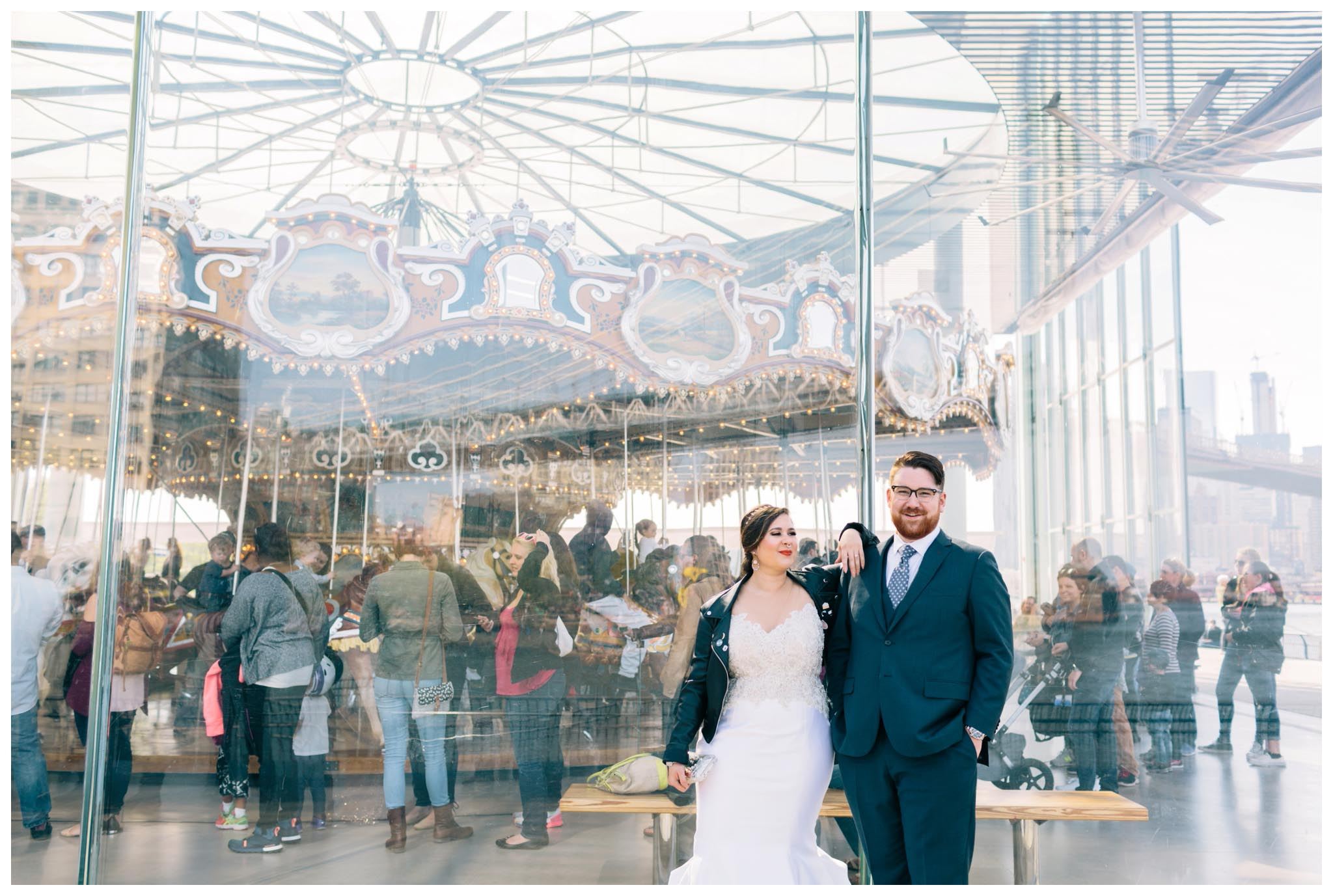Jane's Carousel, wedding
