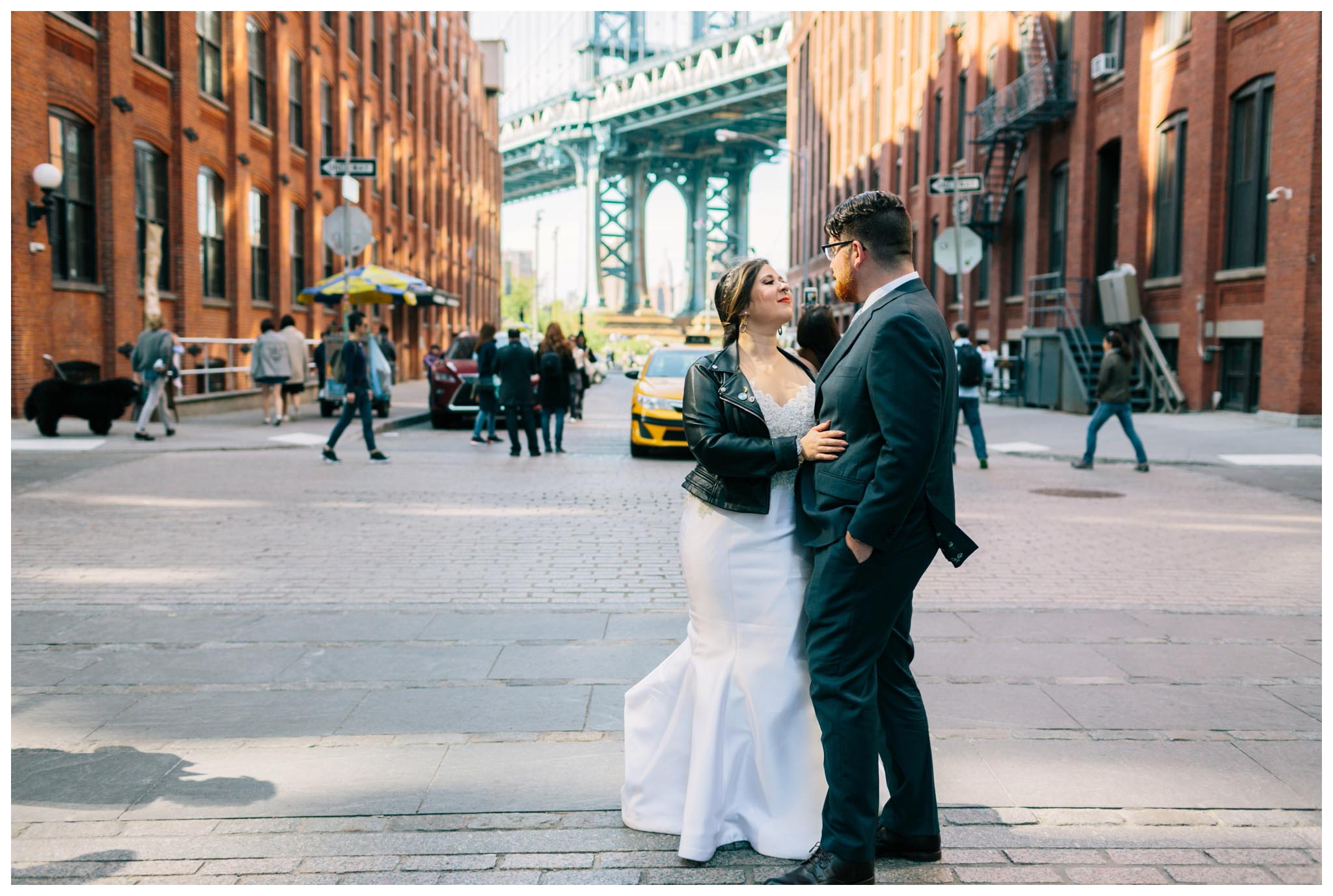 Brooklyn Bridge, wedding