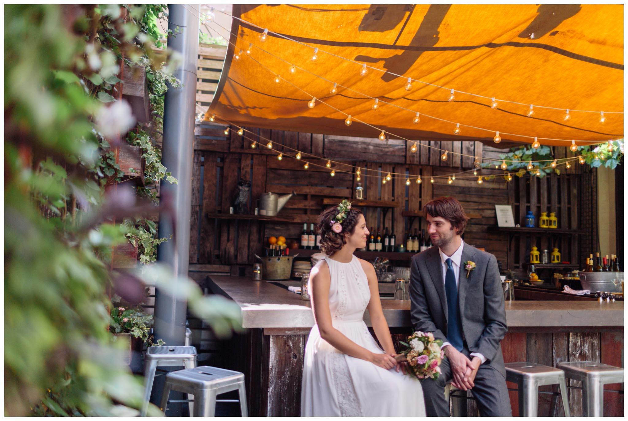 Talula's Garden, wedding