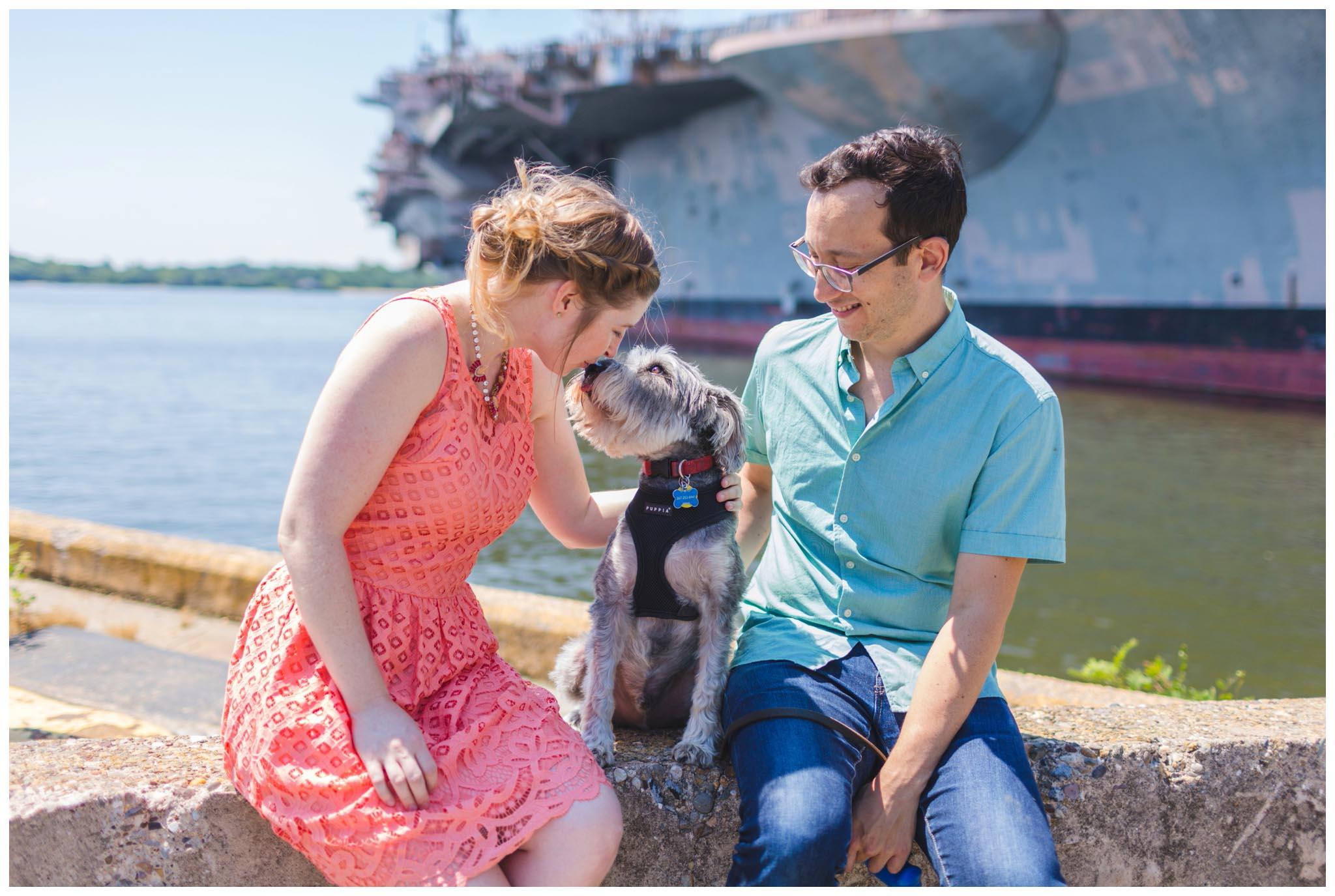 Philadelphia, Navy Yard, engagement