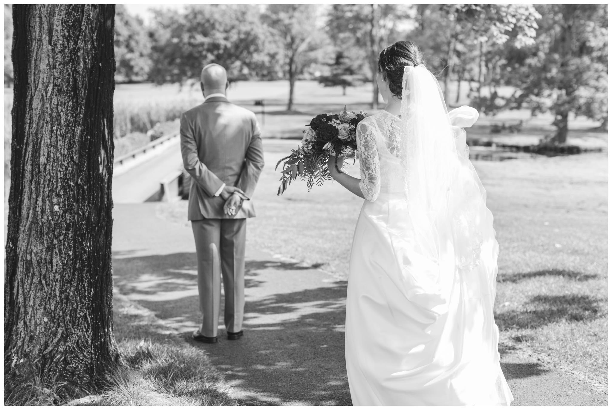 first look, wedding, Philadelphia