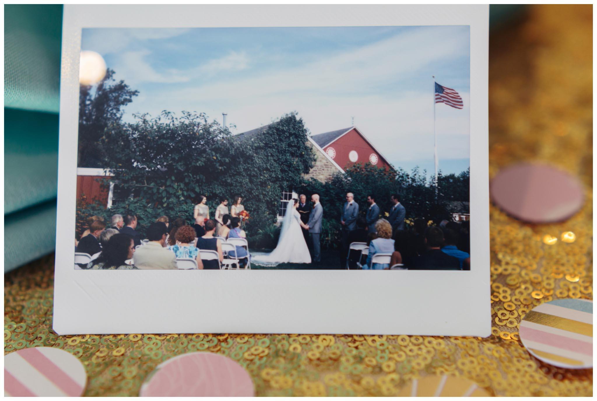instant film, wedding photographer, philadelphia