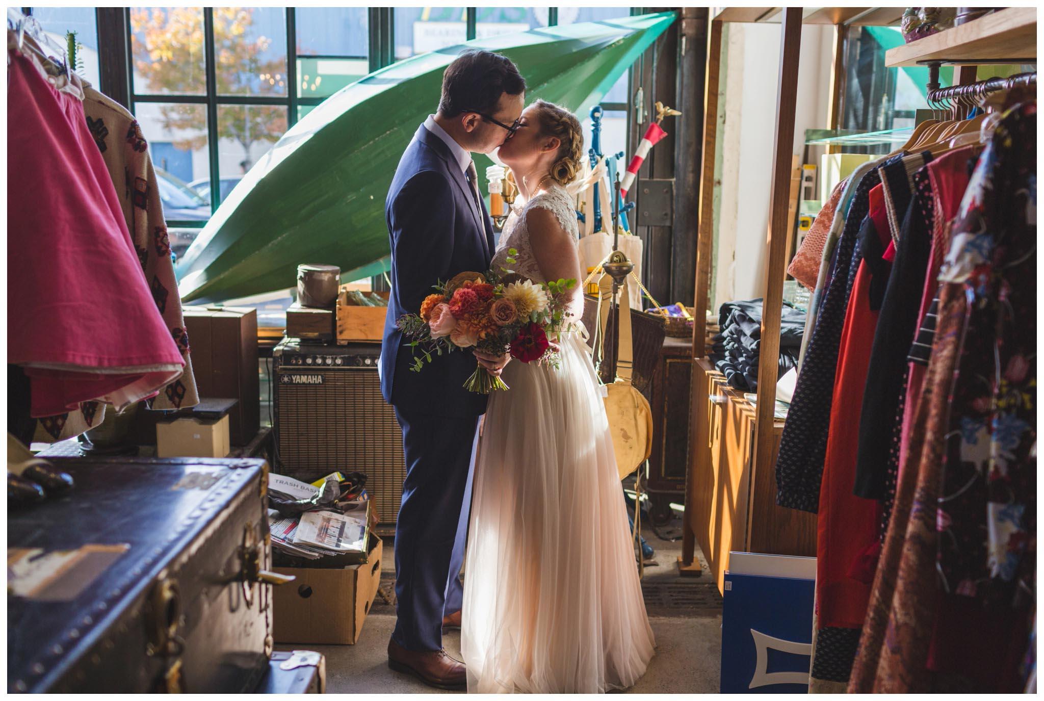 Jinxed, Kensington, wedding