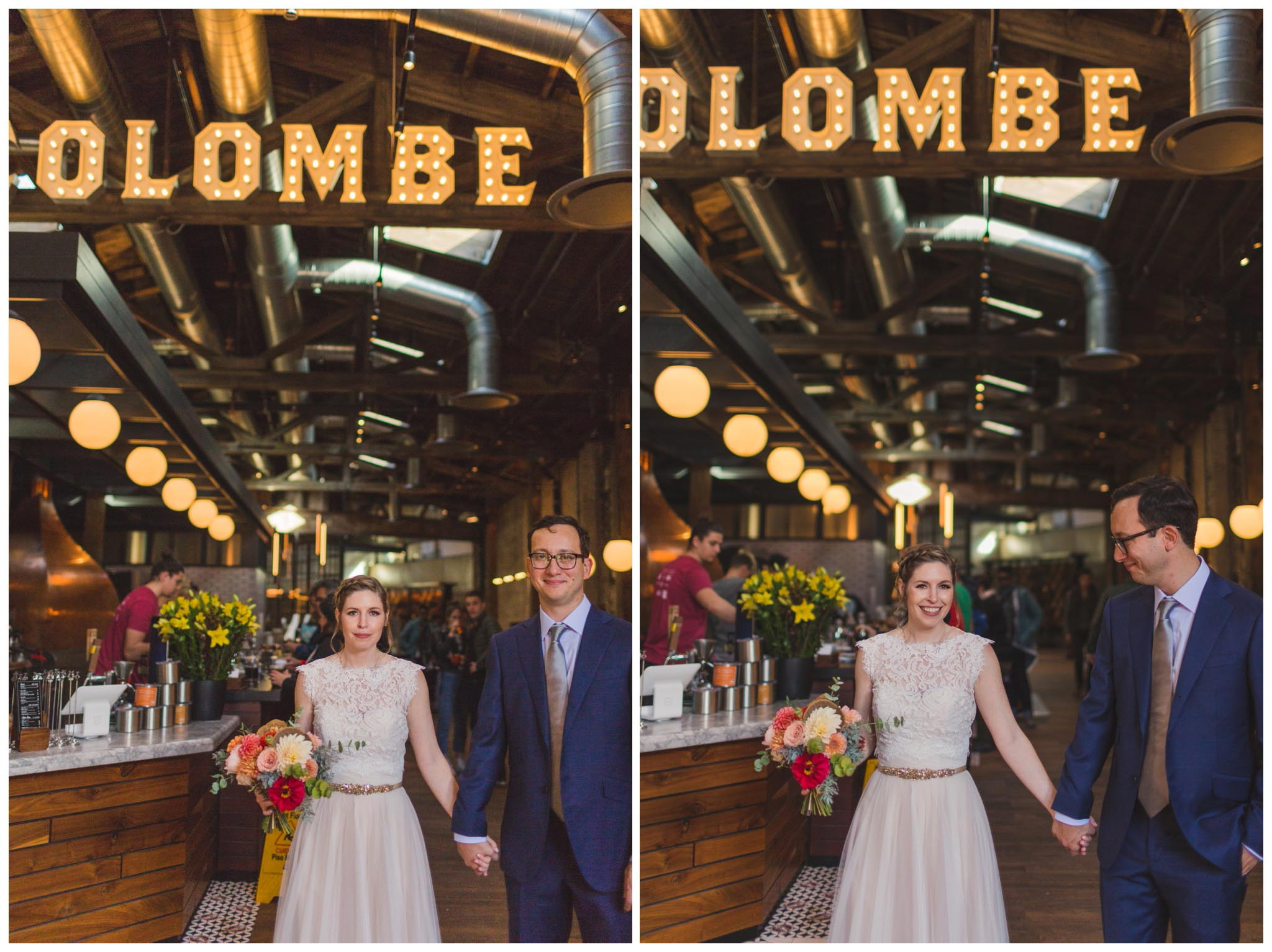 La Colombe, wedding, Philadelphia
