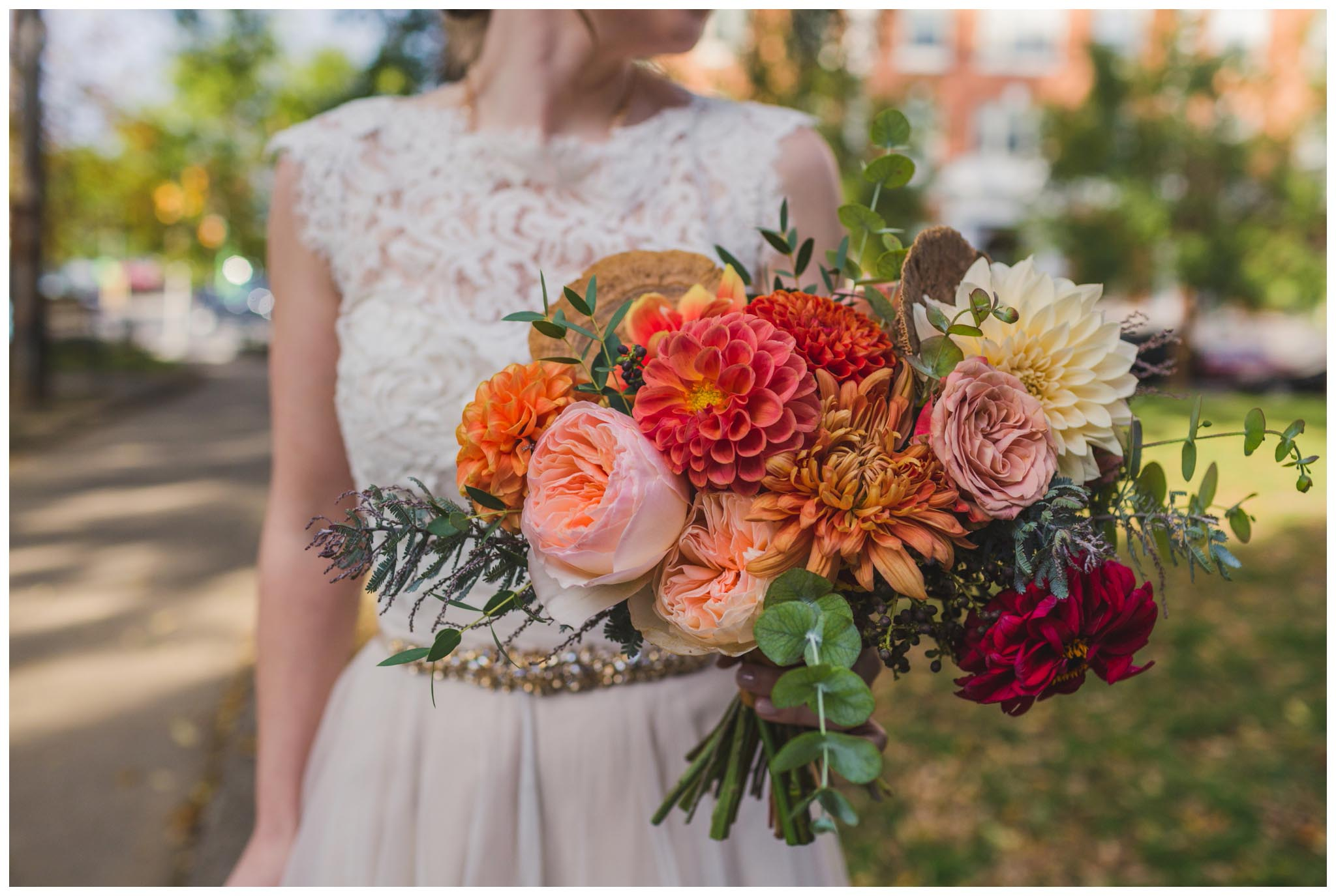 Falls Flowers, bouquet, wedding