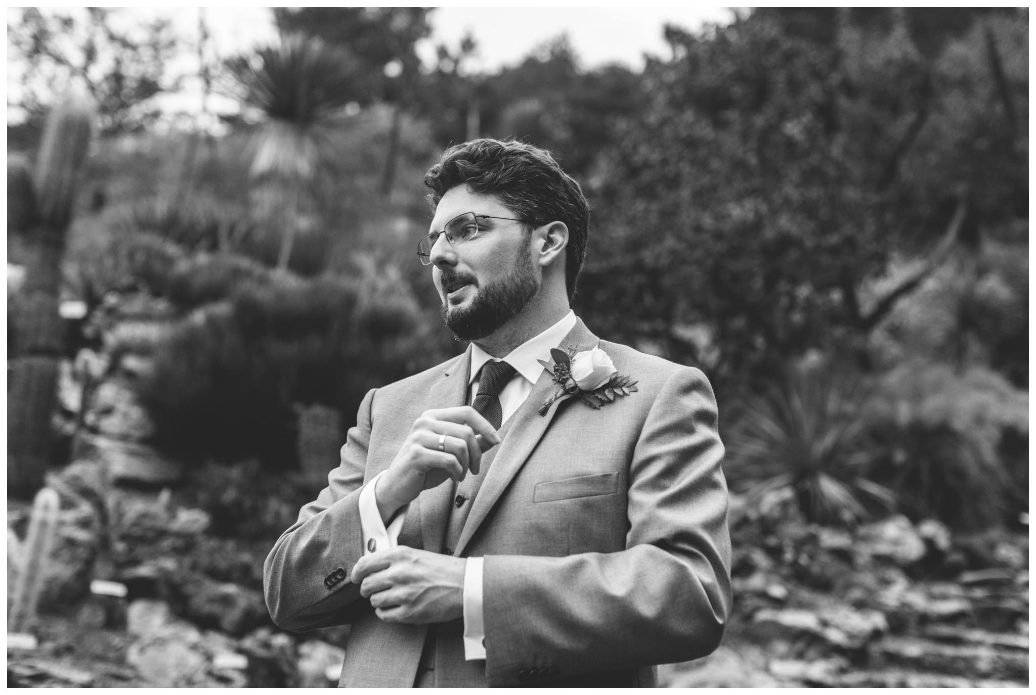 University of California Botanical Garden, wedding