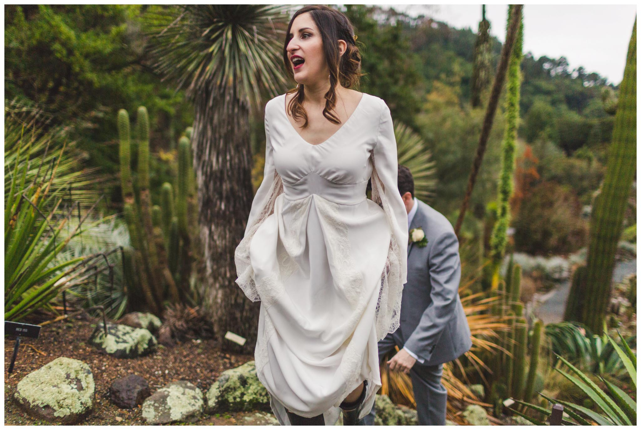 University of California Botanical Garden, wedding, California