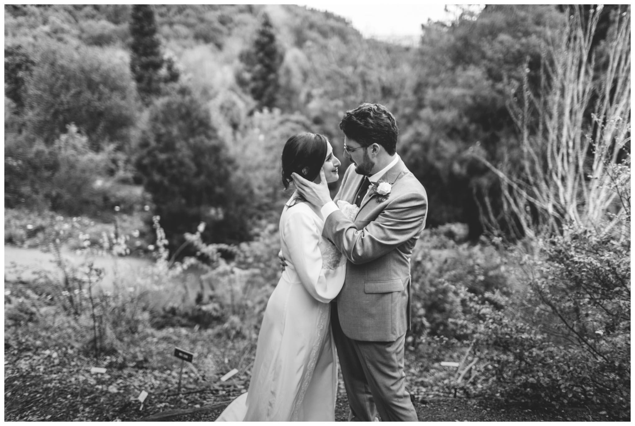 University of California Botanical Garden, wedding, California