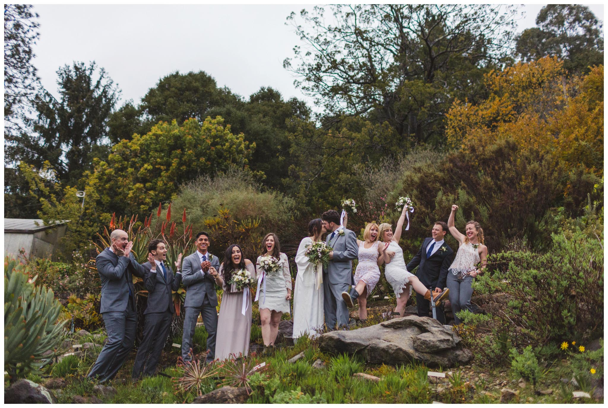 bridal party, Bay Area, Berkeley, wedding