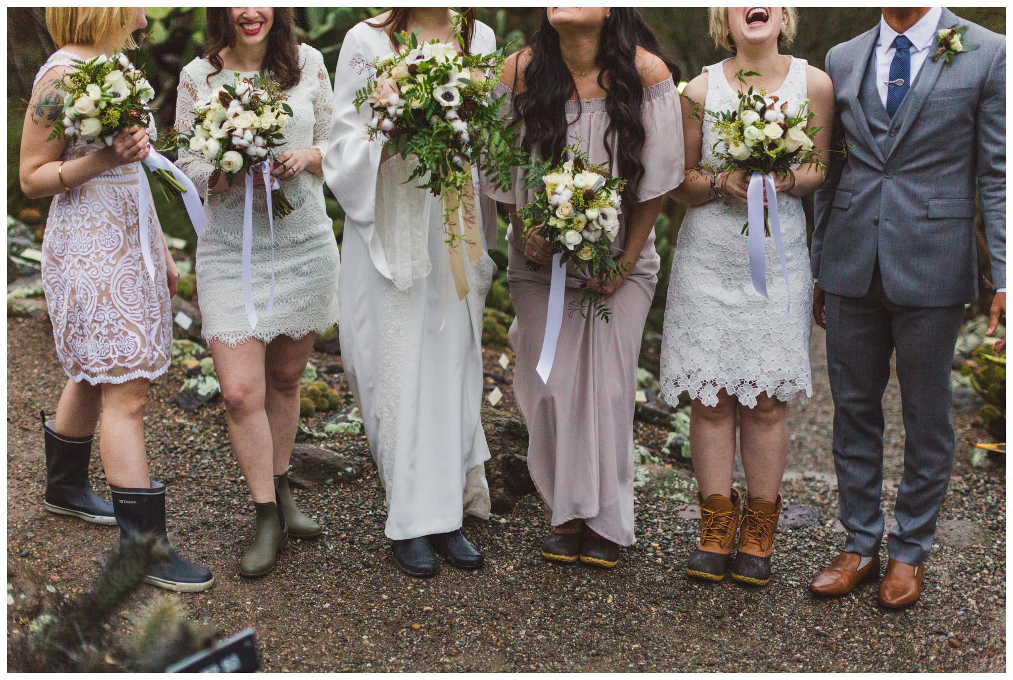 bridal party, Bay Area, Berkeley, wedding