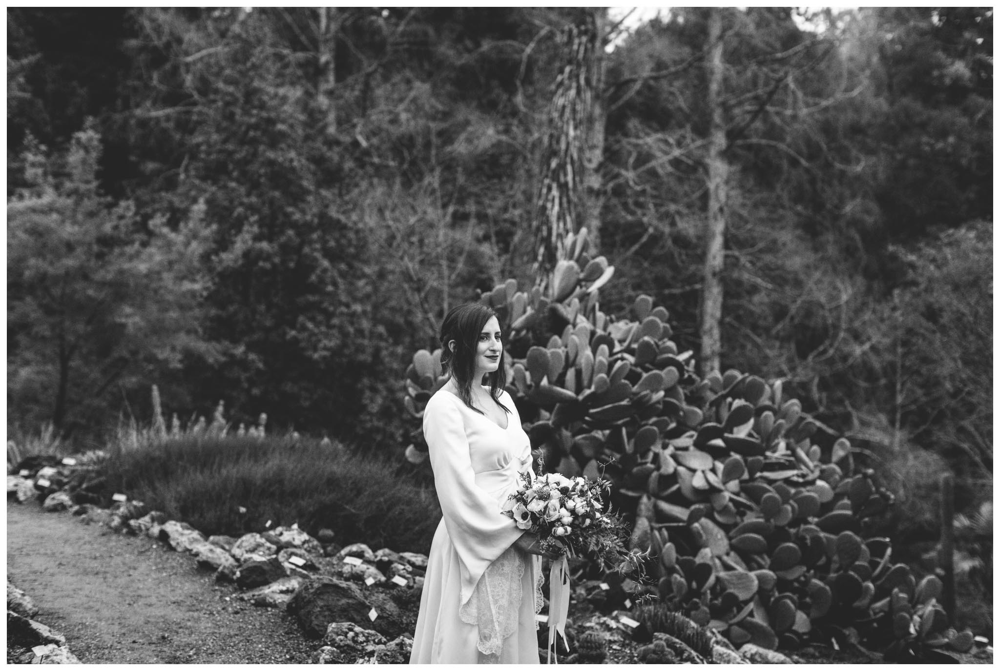 bridal portraits, Berkeley, Bay Area, gardens