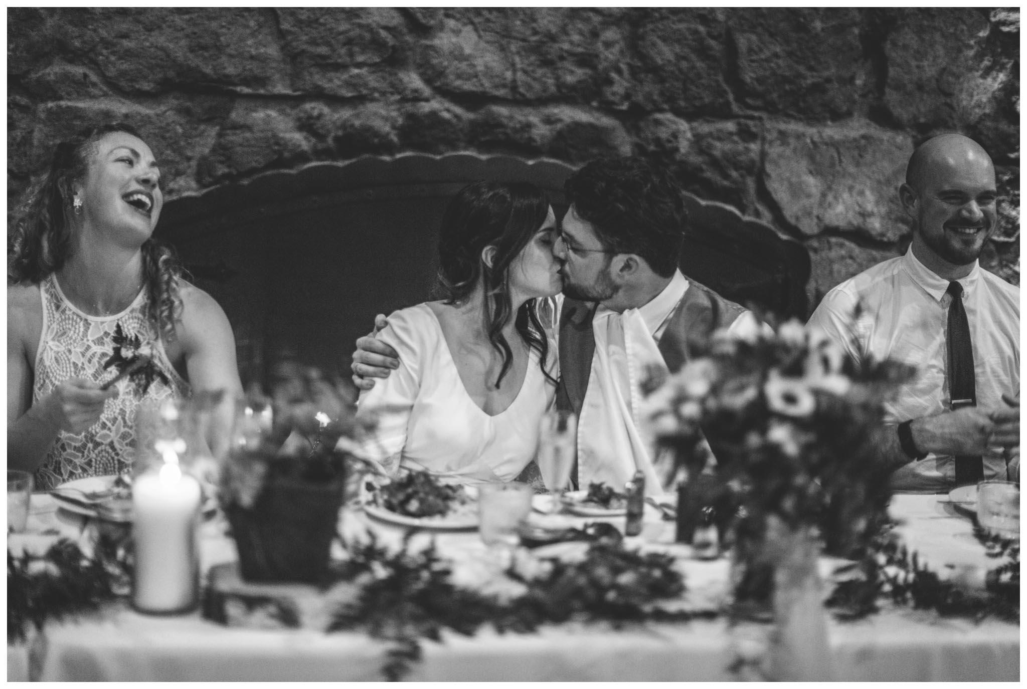 The Brazilian Room, wedding, winter, Berkeley, California