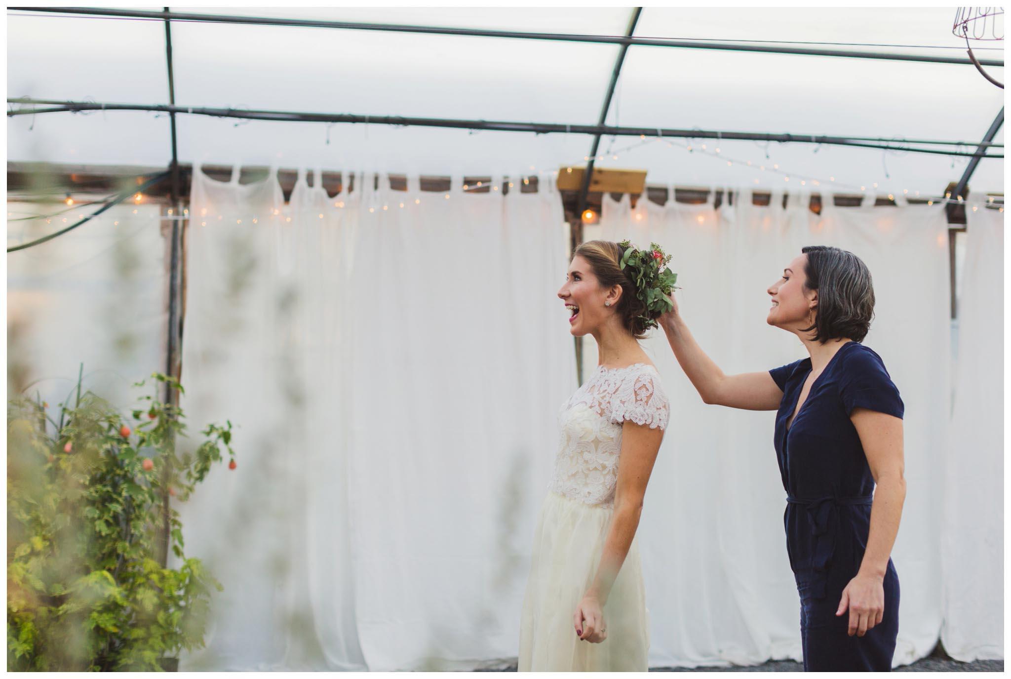 Greensgrow Farms, wedding