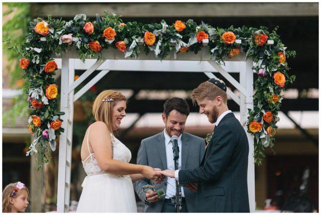 Joseph Ambler Inn, wedding